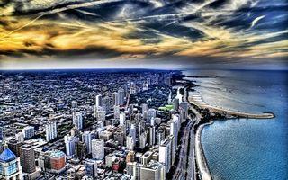Бесплатные фото море,побережье,дороги,улицы,дома,здания,небо