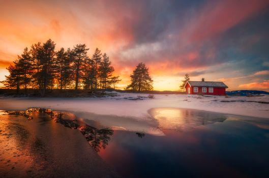 Фото бесплатно дом, Норвегия, Скандинавия