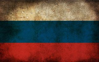 Photo free flag of Russia, tricolor, spots