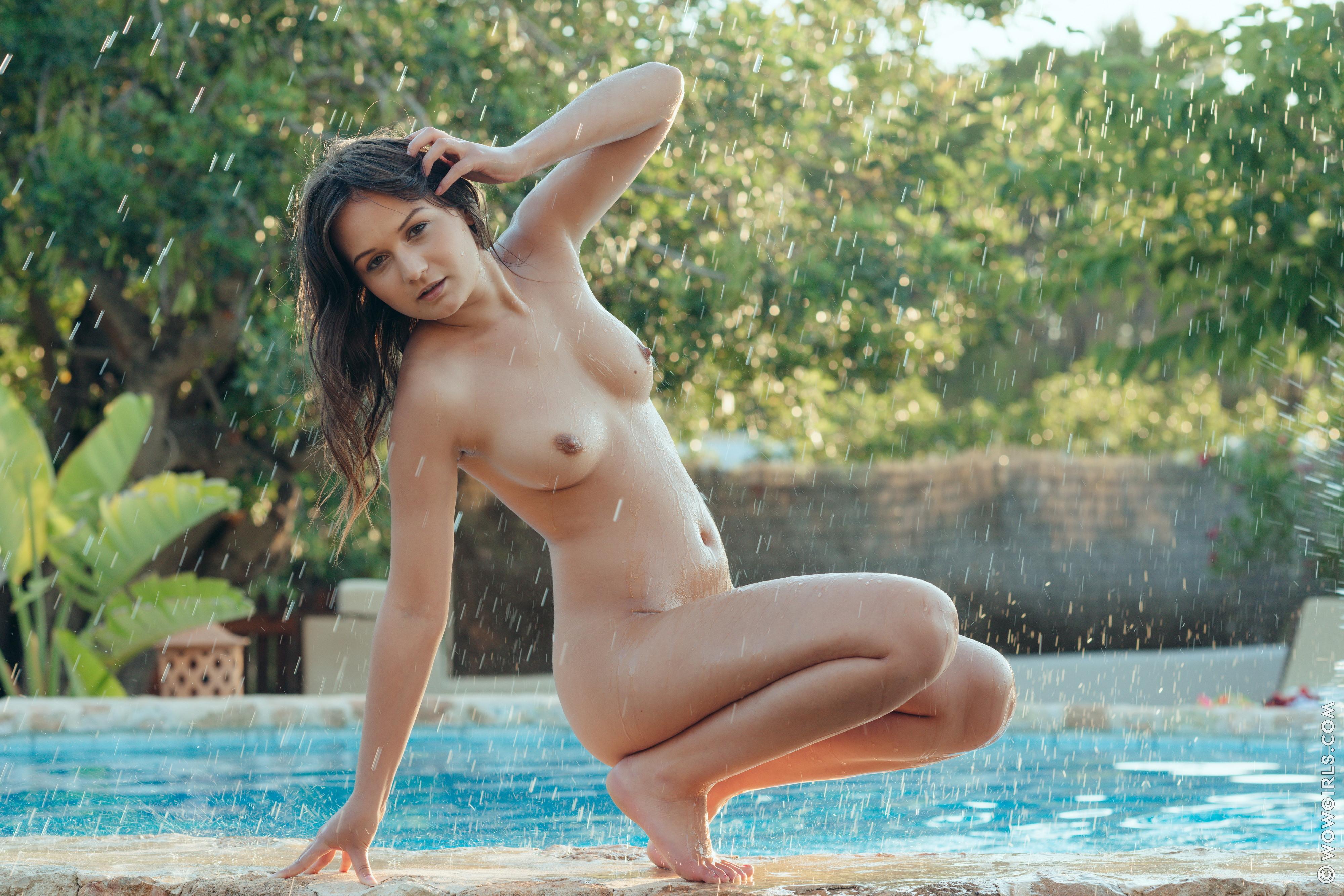обои Anina Silk, модель, красотка, голая картинки фото