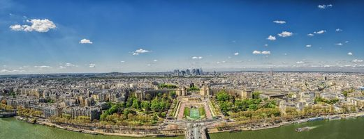Фото бесплатно галерея, Париж, панорама