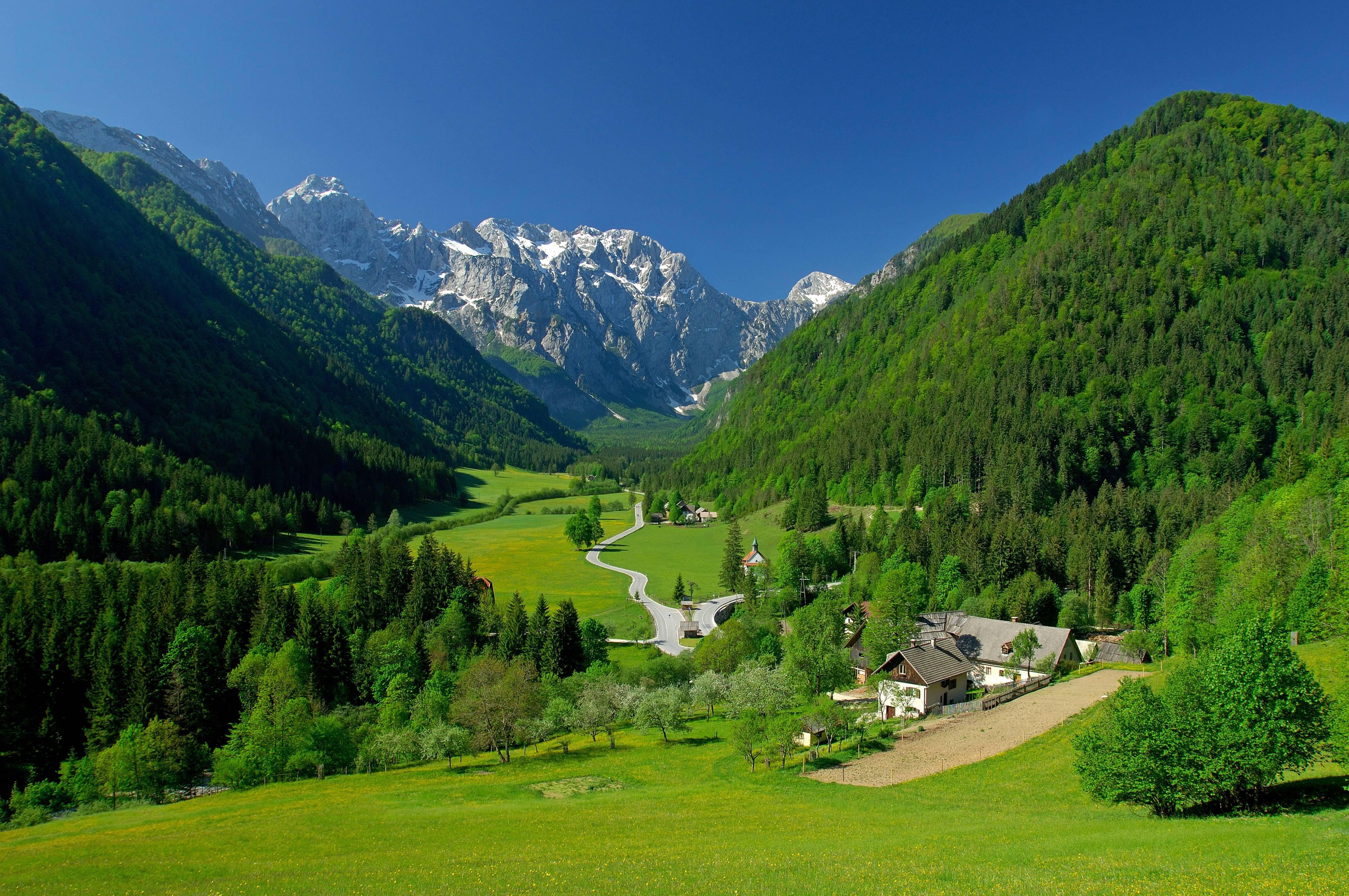 Австрия горы высшее качество фото