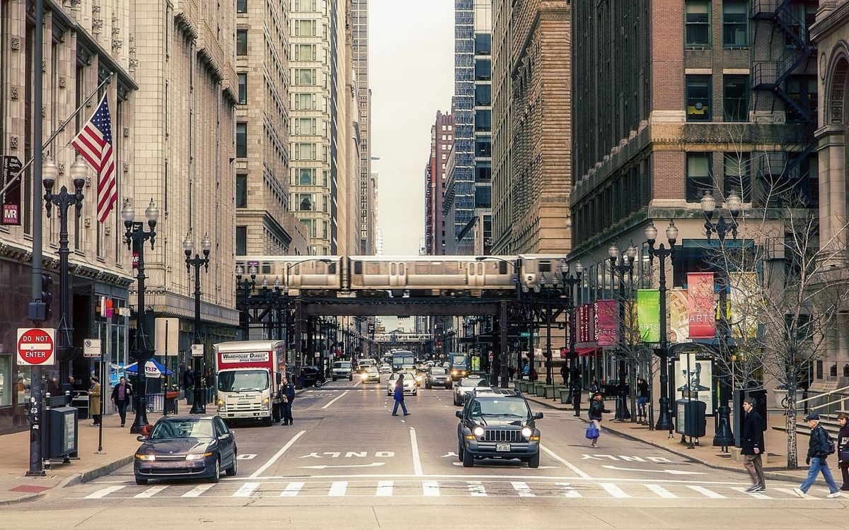 Фото бесплатно улица, Нью-Йорк, дорога - на рабочий стол
