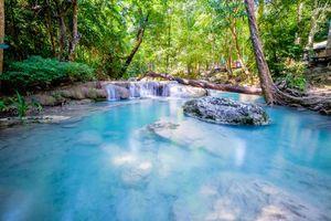 Фото бесплатно красивый водопад, Эраван, Таиланд