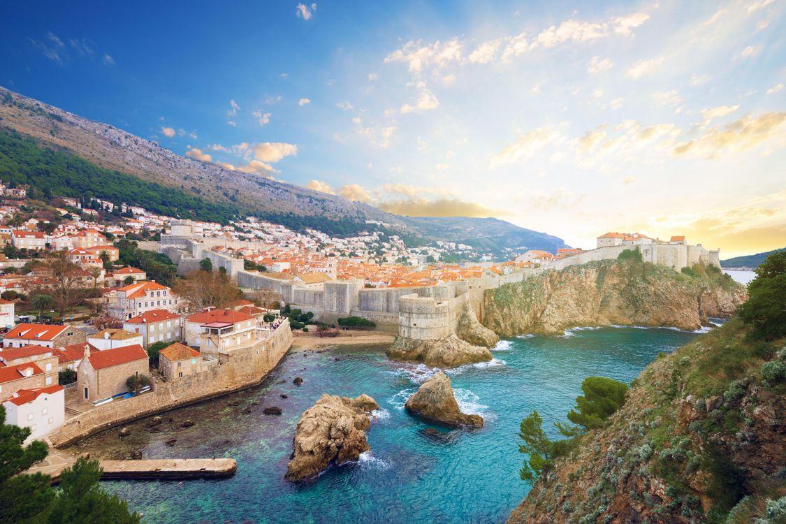 Фото бесплатно Хорватия, Дубровник, Адриатика - на рабочий стол