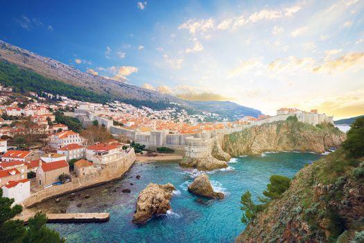 Фото бесплатно Хорватия, Дубровник, Адриатика