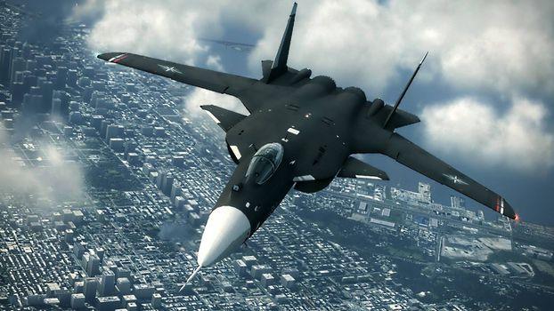 Фото бесплатно Су-47, истребитель, обратное крыло, Россия, полет, небо