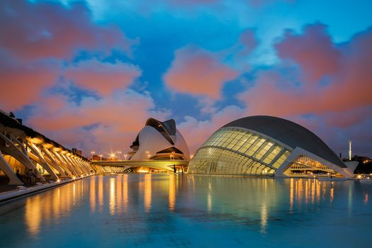 Photo free The city of arts and Sciences, Valencia, Spain