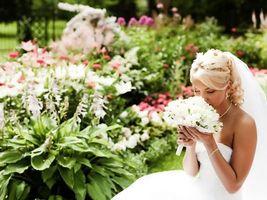 Бесплатные фото свадьба, девушка, невеста, платье, фата, букет, цветы