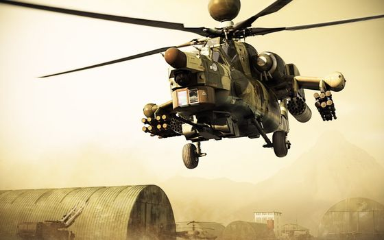 Photo free helicopter, combat, armament
