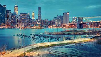 Бесплатные фото Нью-Йорк,США,город