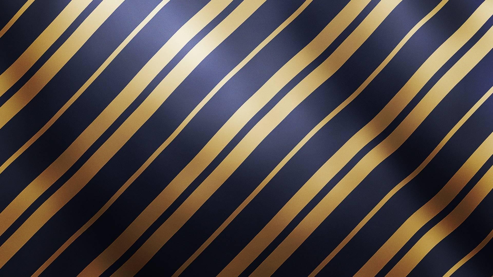обои синий, золотой, полоски картинки фото