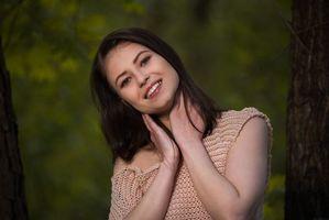 Бесплатные фото Hilary C,красотка,девушка,модель,улыбка,настроение