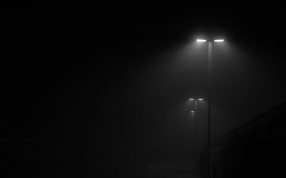 Бесплатные фото ночь,фонари,свет