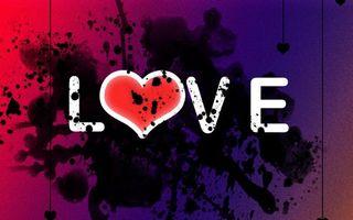Фото бесплатно надпись, буквы, love