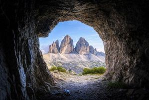 Бесплатные фото горы, пещера, арка, пейзаж
