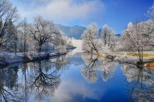Бесплатные фото река,горы,деревья,природа,пейзаж
