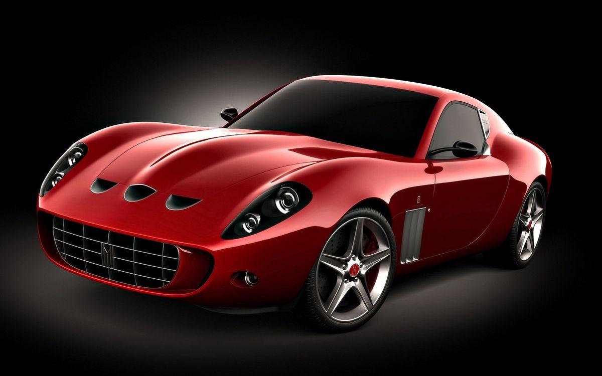 Фото бесплатно спорткар, красный, фары, решетка, воздухозаборники, диски, машины
