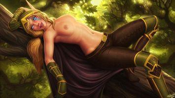 Бесплатные фото девушка, 3D, комиксы, Comix