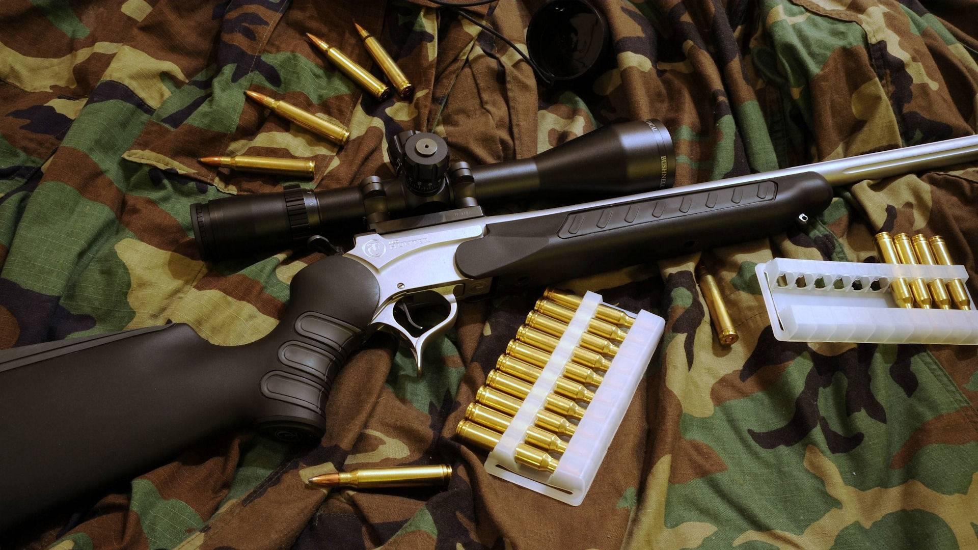обои винтовка, ствол, прицел, оптика картинки фото