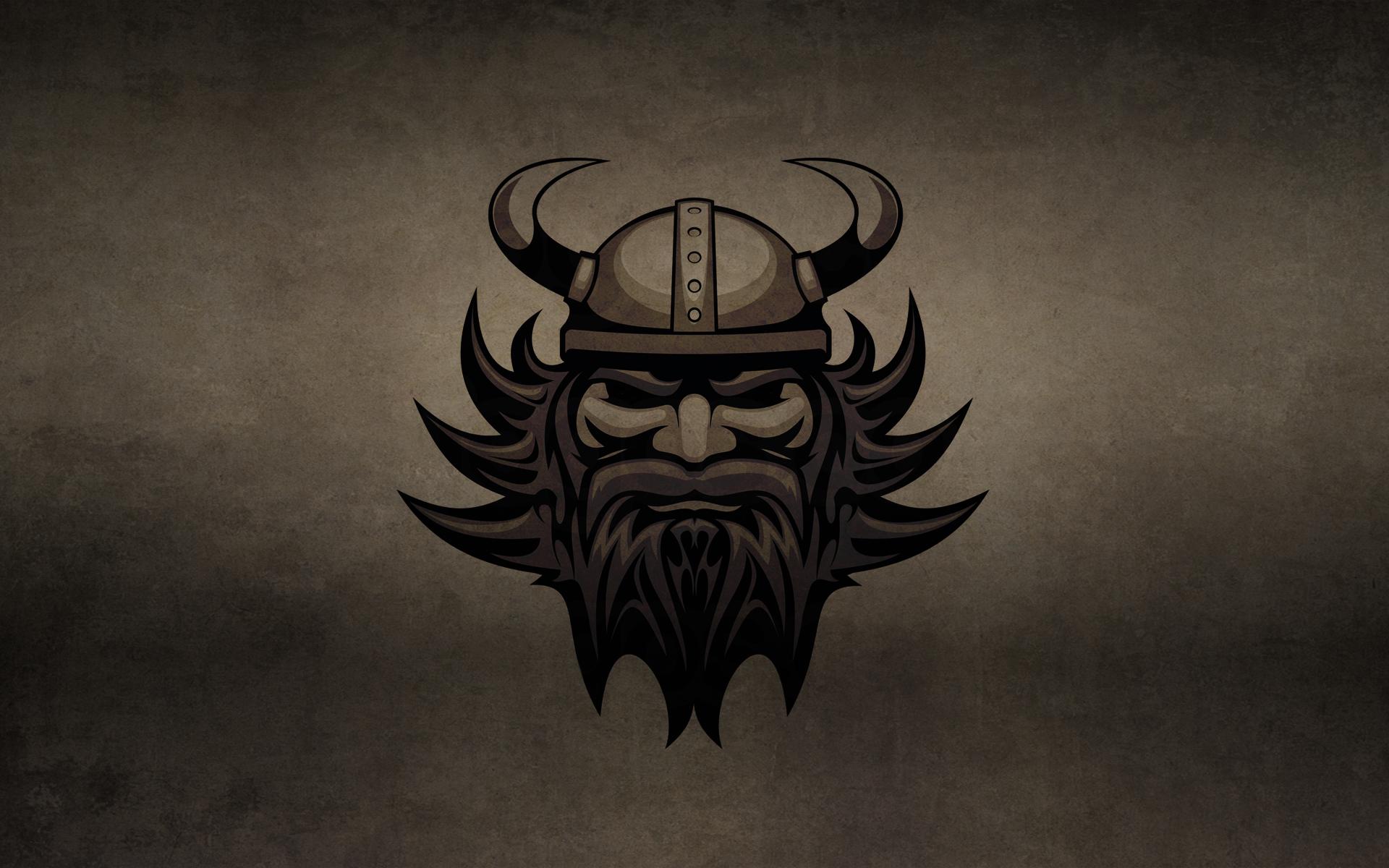 обои викинг, лицо, волосы, борода картинки фото
