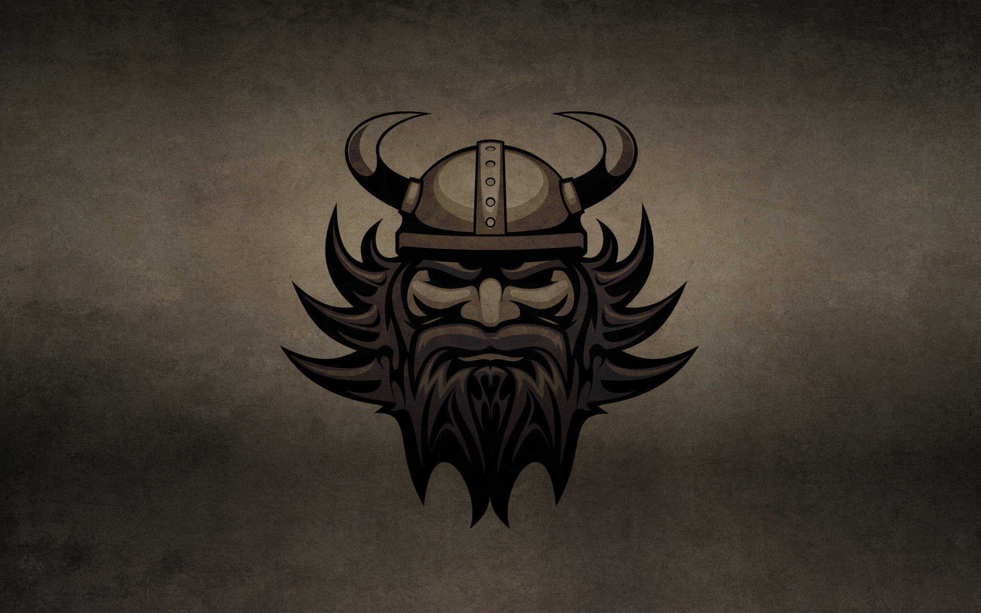 Обои викинг, лицо, волосы, борода
