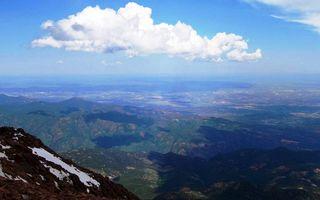 Бесплатные фото высота,горы,снег,растительность,горизонт,небо,облака