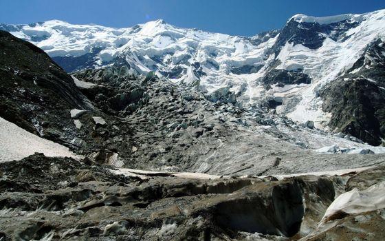 Фото бесплатно скалы, небо, вершины