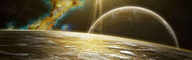 Бесплатные фото планеты,спутники,лучи солнца,радиация