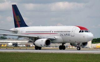 Заставки самолет, пассажирский, взлетная полоса, крылья, турбины, хвост, шасси