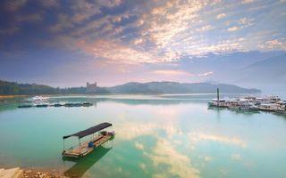 Бесплатные фото причал,лодки,катера,береговая линия