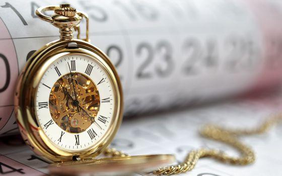 Фото бесплатно gold pocket watch, золотые, карманные
