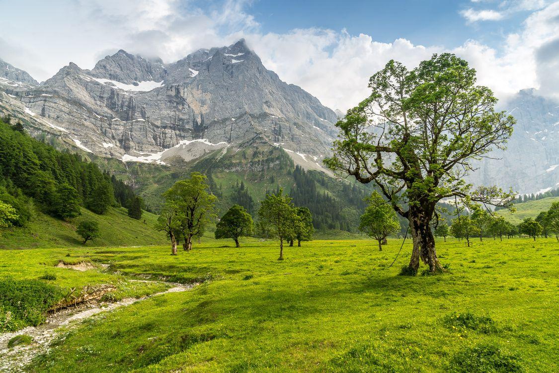 Фото бесплатно Австрия, поля, пейзаж - на рабочий стол