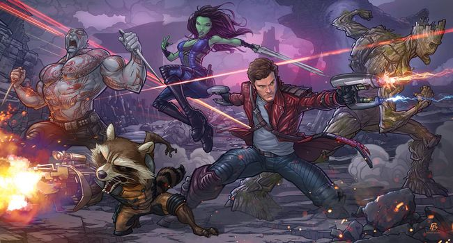 Photo free Guardians of the Galaxy, film, adventure