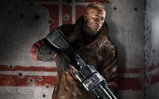 Бесплатные фото воин,солдат,засада,куртка,пулемет,стена
