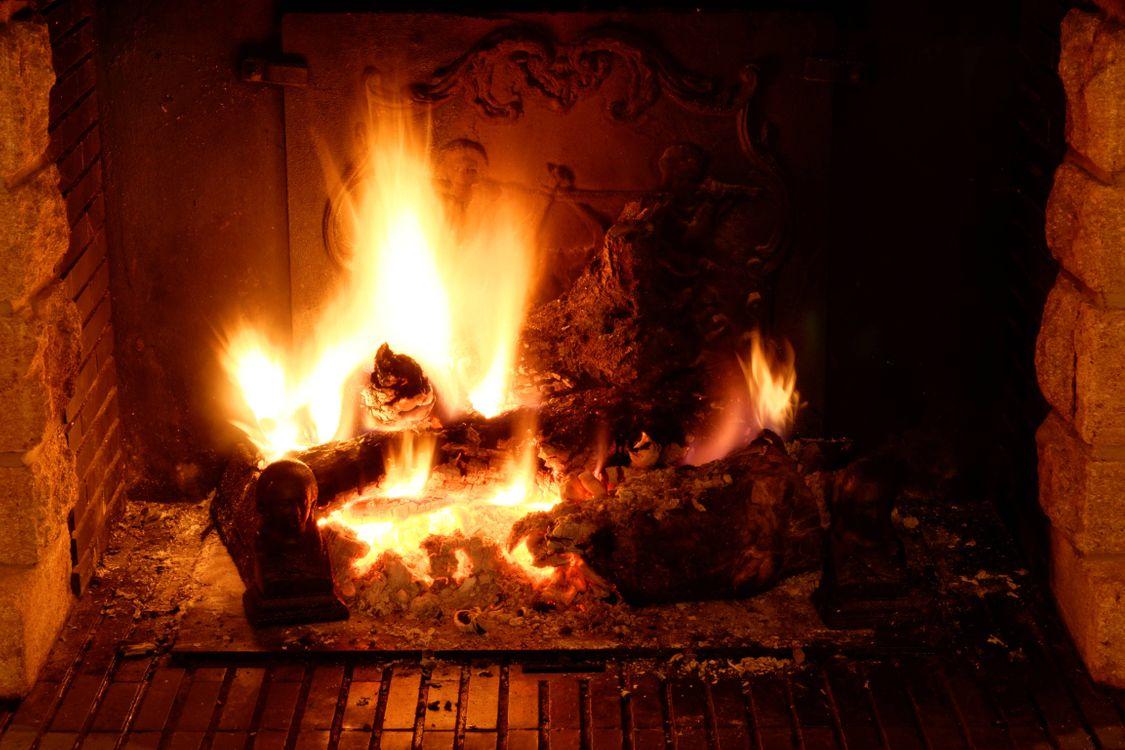 Фото бесплатно печь, огонь, угли - на рабочий стол