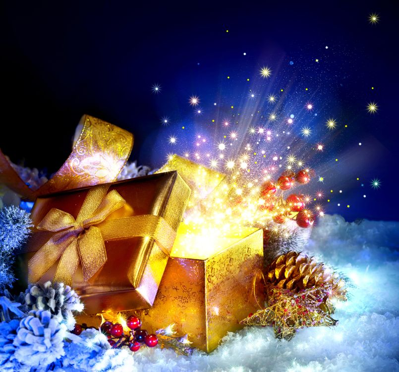 Фото бесплатно Рождество, фон, дизайн, элементы, новогодние обои, новый год, новогодний стиль, новогодняя декорация, украшения, подарки, новый год