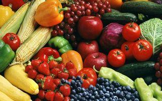 Фото бесплатно фрукты, ягода, овощи