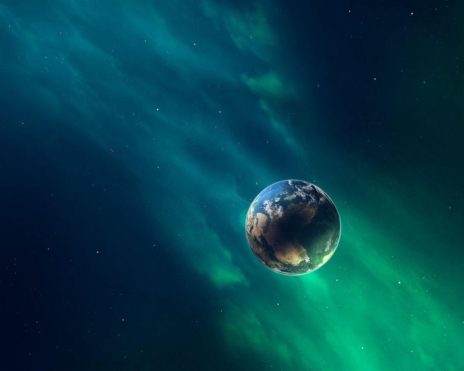 Фото бесплатно космос, вселенная, планеты, звёзды, созвездия, свечение, невесомость, вакуум, галактика, art, космос - скачать на рабочий стол