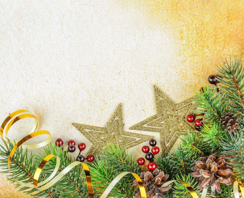 Фото бесплатно Рождество, фон, дизайн, элементы, ёлка, ель, ветки - на рабочий стол