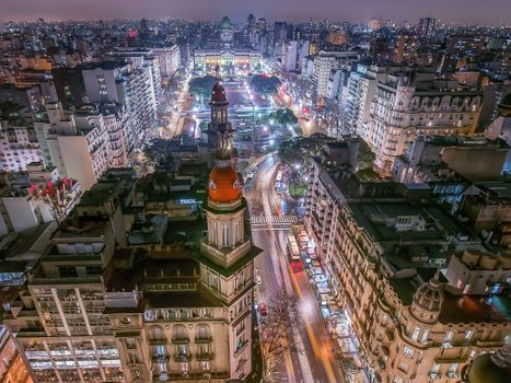 Photo free Argentina, night, Buenos Aires