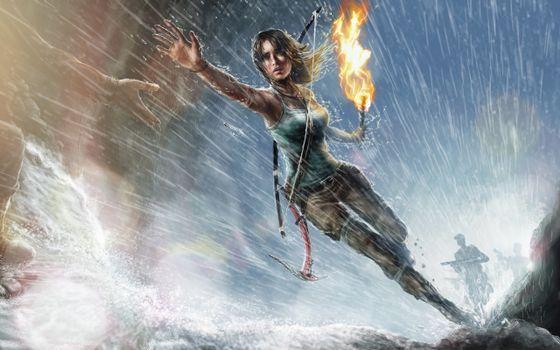 Photo free Tomb Raider, Lara Croft, Torch