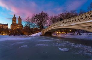 Бесплатные фото Центральный парк,Нью-Йорк,вечер