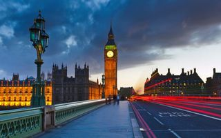 Заставки Лондон, часовая башня Биг Бен