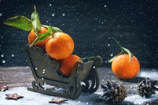 Photo free mandarins, food, fruits