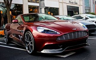 Photo free aston martin, burgundy, lights