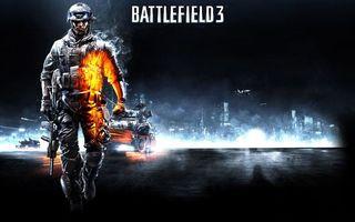 Бесплатные фото бателфилд 3,солдат,автомат,техника,самолет,город,надпись