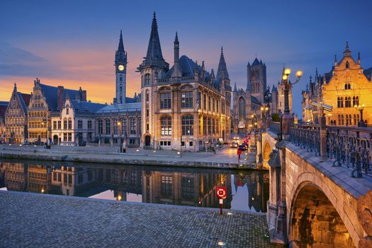 Photo free in Belgium, a city in Flanders, Ghent