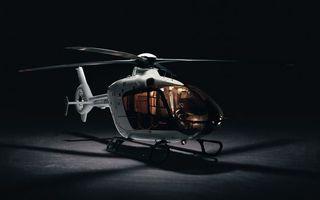 Фото бесплатно вертолет, белый, винты