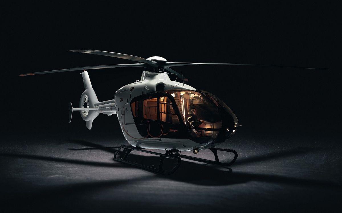 Фото бесплатно вертолет, белый, винты - на рабочий стол